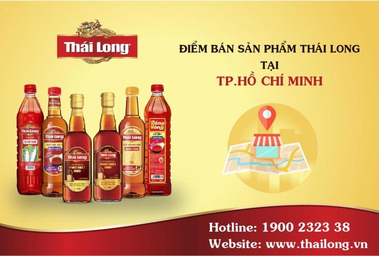 Các điểm bán sản phẩm Thái Long tại HCM (Tp. Thủ Đức, Quận 7, Q.12 và các huyện khác)