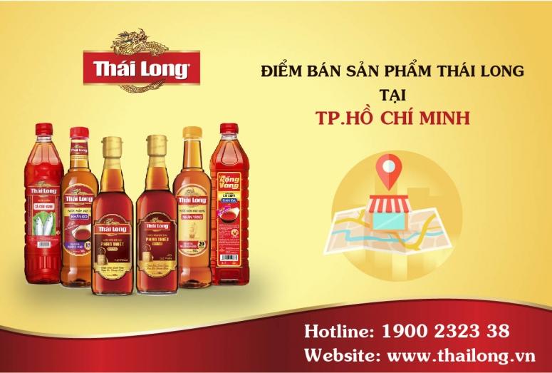 Các điểm bán sản phẩm Thái Long tại HCM - Miền Nam