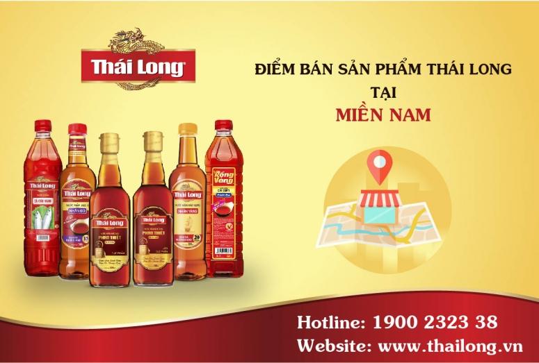 Các điểm bán sản phẩm Thái Long tại Miền Nam